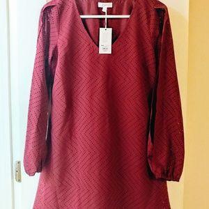 Brand new- Candie's split sleeve shift dress
